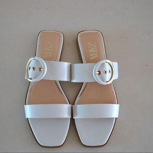 Zara Buckle Shoes